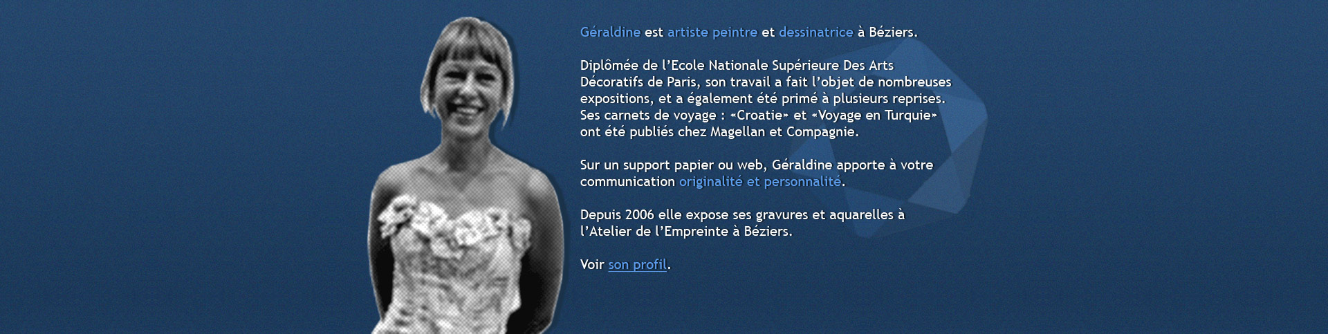geraldine-dessinatrice-peintre