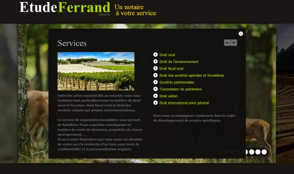 cabinet d'etude Ferrand