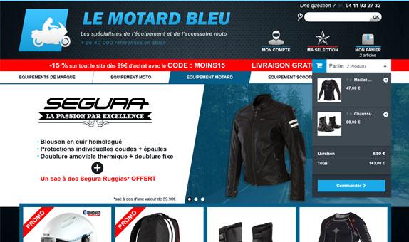 Le Motard Bleu