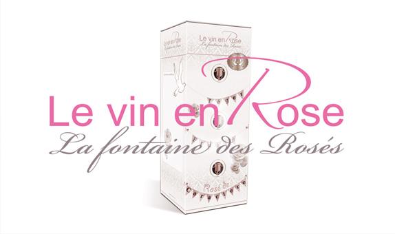 identité visuelle Le Vin en Rose