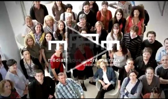 vidéo de présentation de la Médiathèque André Malraux