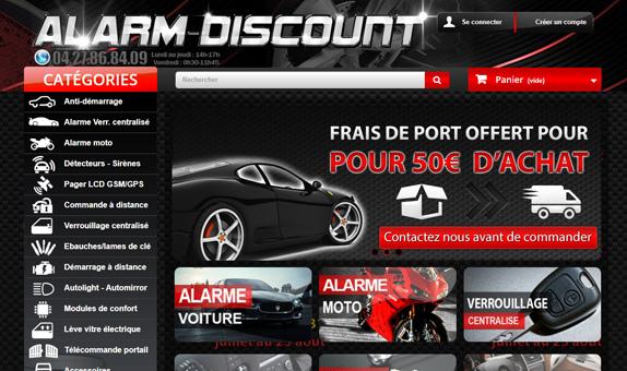 Alarm Discount