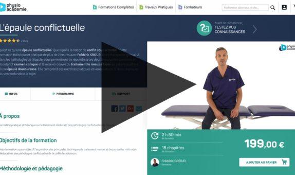 vidéo d'entreprise publicité PhysioAcadémie